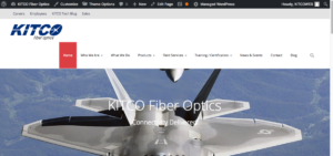 KITCO Fiber Optics Home